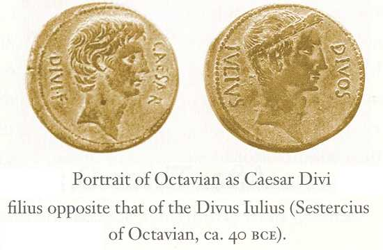 Augusts Caesar Coins