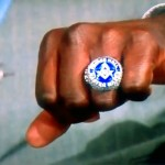 Shaq Says He's A Freemason & Shows Ring on TV