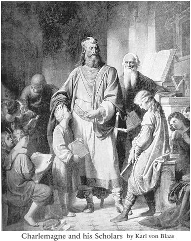 Bede and charlemagne