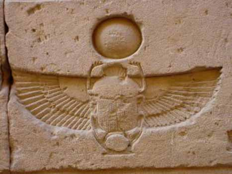 The Immortal Egyptian Beetle Gnostic Warrior
