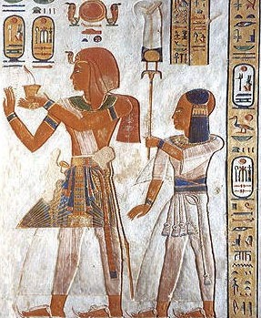 Ramesses III kilt of many colors