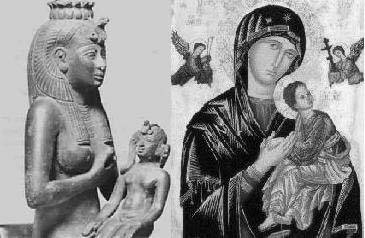 Isis and Virgin Mary