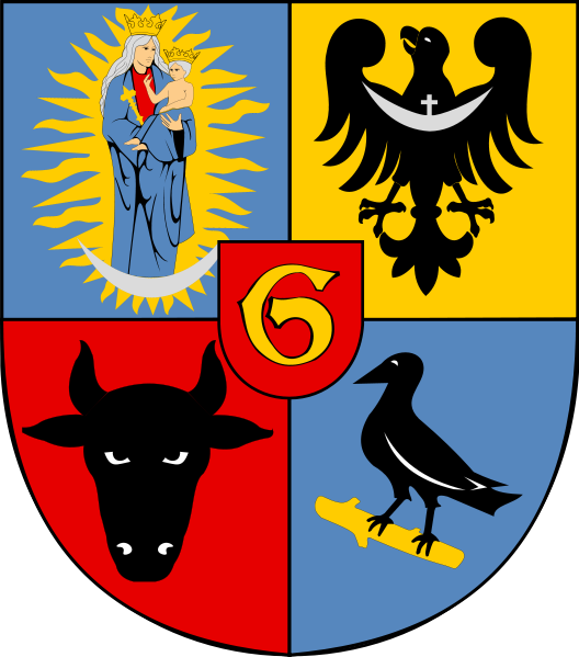 Raven coat of arms glocow