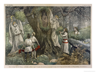 Druids and Oak Tree