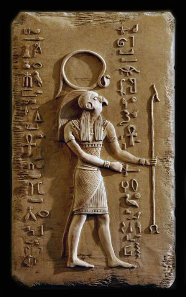 Amon Ra crook and staff