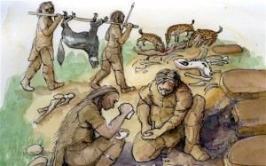 Neanderthals and dog
