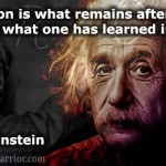 Einstein Quote on Education