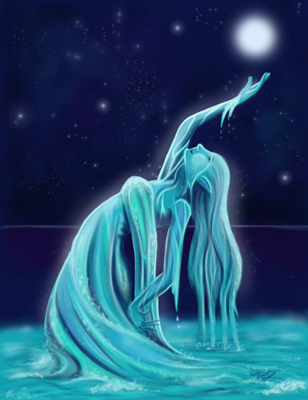 Heaven Water spirit girl