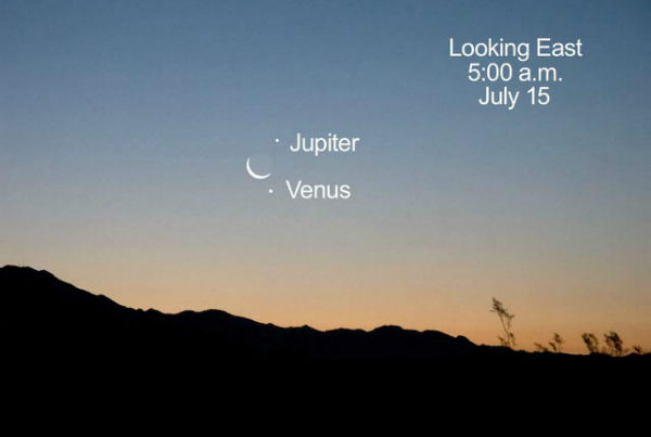 Jupiter and Venus