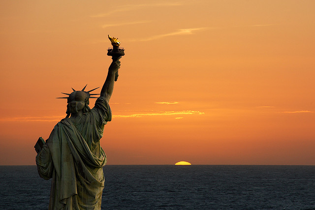 The Statue of Liberty (Isis)
