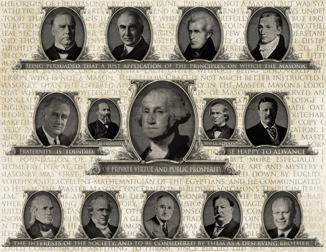 Famous freemasons for Who is the most famous president of the united states