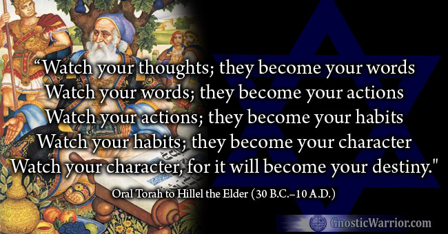 Torah Quote: Watch Your Thoughts, They Become Your Words