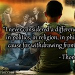 Thomas Jefferson Quote on Differences in Politics, Religion, and Philosophy