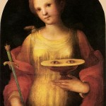 Dante and Shining-Eyed St Lucy