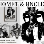 Baphomet and Uncle Sam