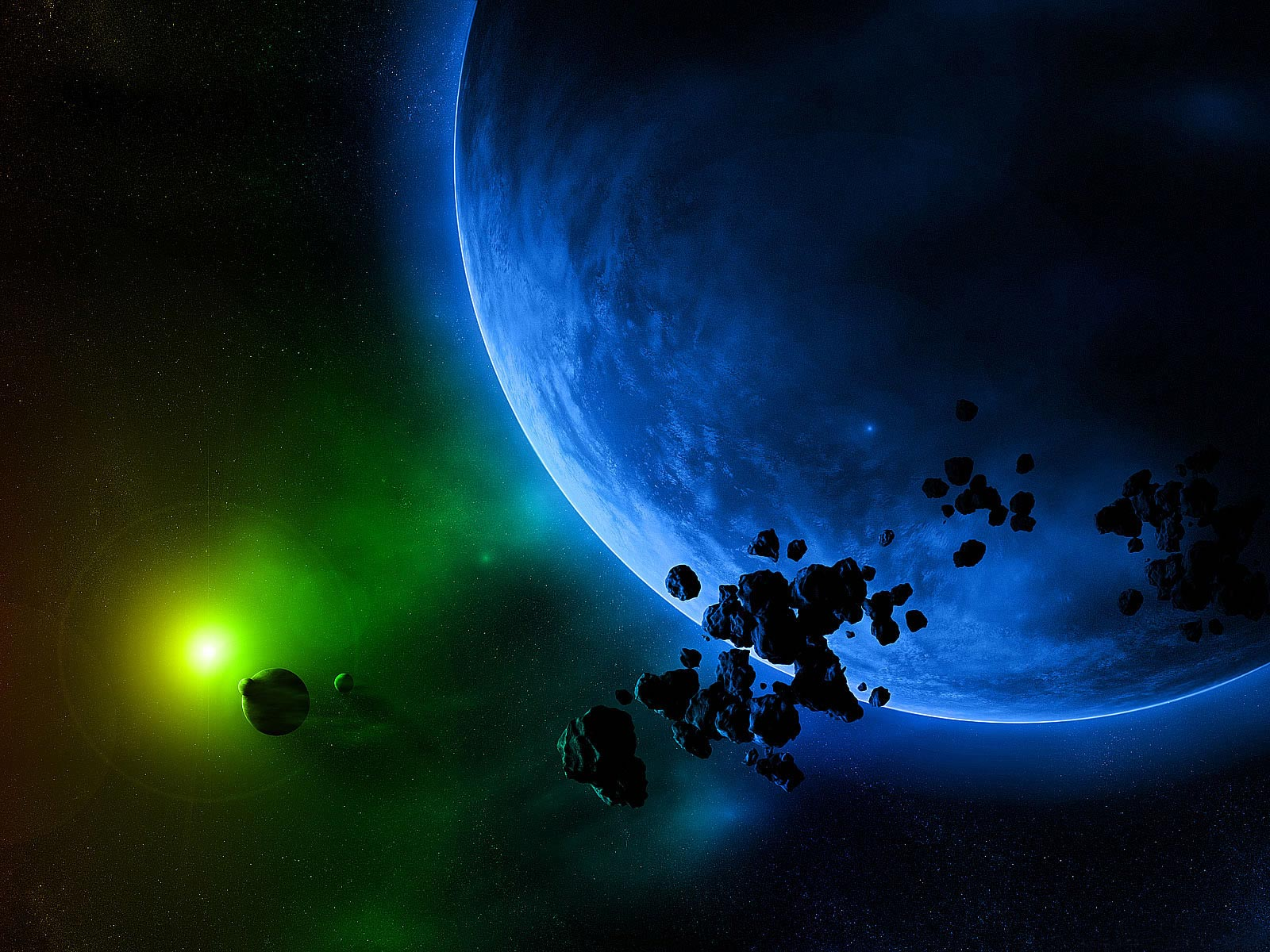 Meteorites Carrying Phosphorus May Have Brought Life to Earth