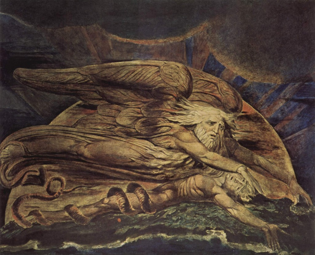 Adam by william blake