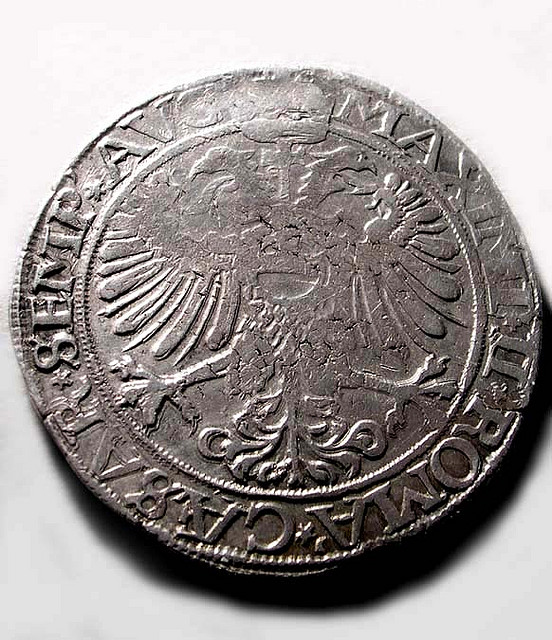 Double headed Charlemagne Coin