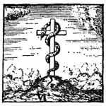 The Serpent on the Cross Becomes Jesus on the Cross