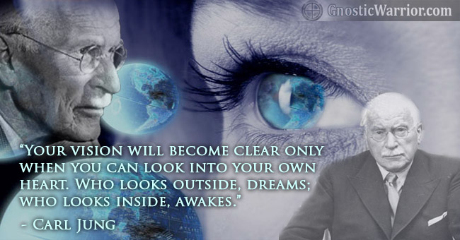 Carl jung quote who looks outside dreams who looks inside