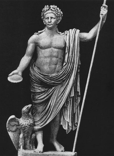 Augustus as Jupiter Vatican