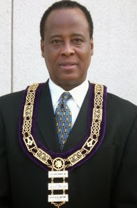 Conrad  Murray Freemason