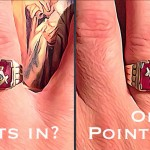 Masonic Rings: Points In Or Points Out?