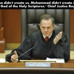 U.S. Alabama Chief Justice: Islam and Buddhism don't have First Amendment protection