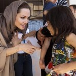 Queen Elizabeth names Angelina Jolie 'honorary dame'