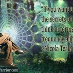 If you want to find the secrets of the universe, think in terms of energy frequency and vibration