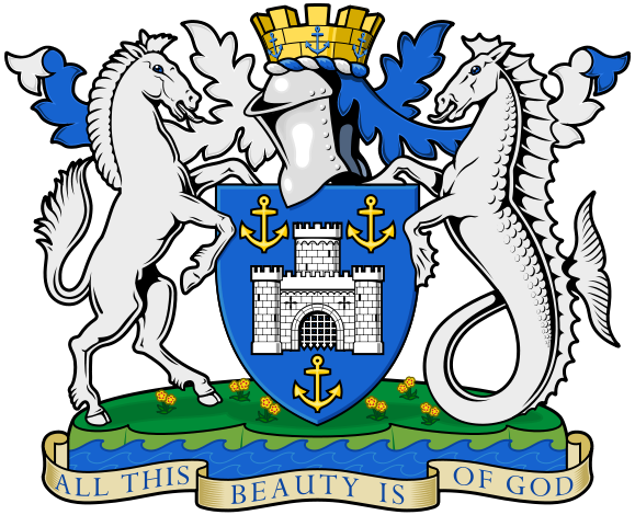 Isle of Wight Coat of Arms