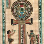 The power of the serpent of Egypt was broken on the Christian cross