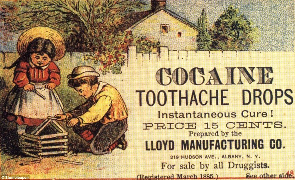 Old ad cocaine