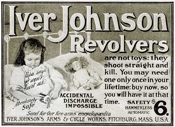 Old ad iver johnson revolver