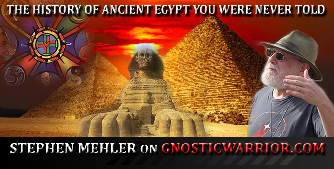 The History of Ancient Egypt You Were Never Told with Stephen Mehler On GW Radio