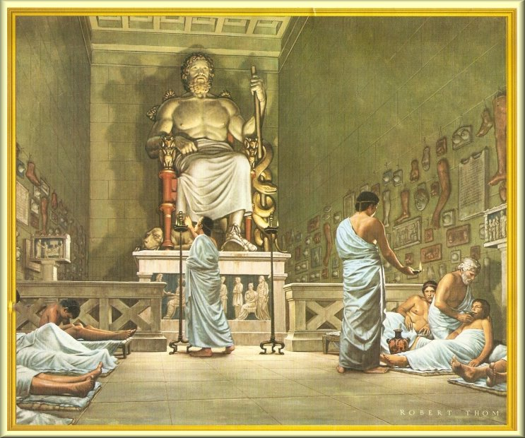 The Healing Temples of the God Asclepius