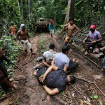 Amazon Indian Warriors Battle Illegal Loggers for Jungle's Future