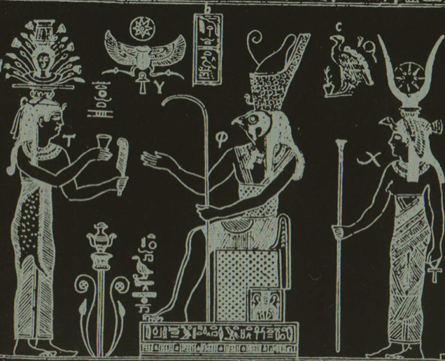 Hermes and Isis