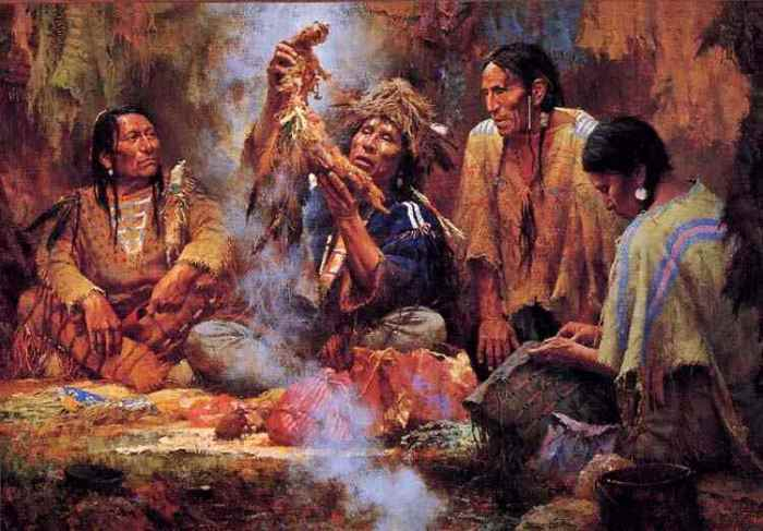 native americans and the rituals of The berdache tradition is a native american/american indian tradition that allowed for gender role change gender role change is the adoption, for various reasons, of a culturally defined social role that is dictated to the opposite sex.