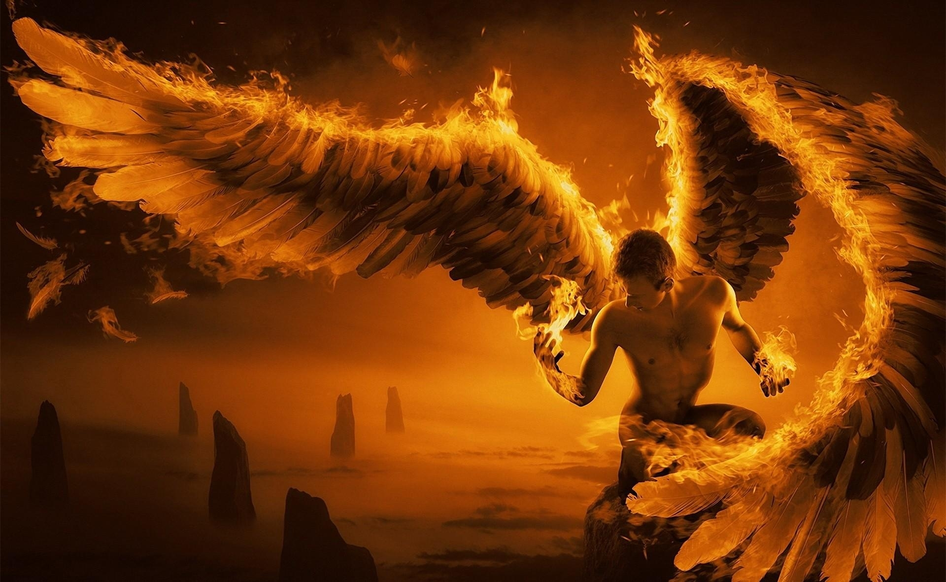 Nephilim on fire