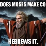 How does Moses make coffee?