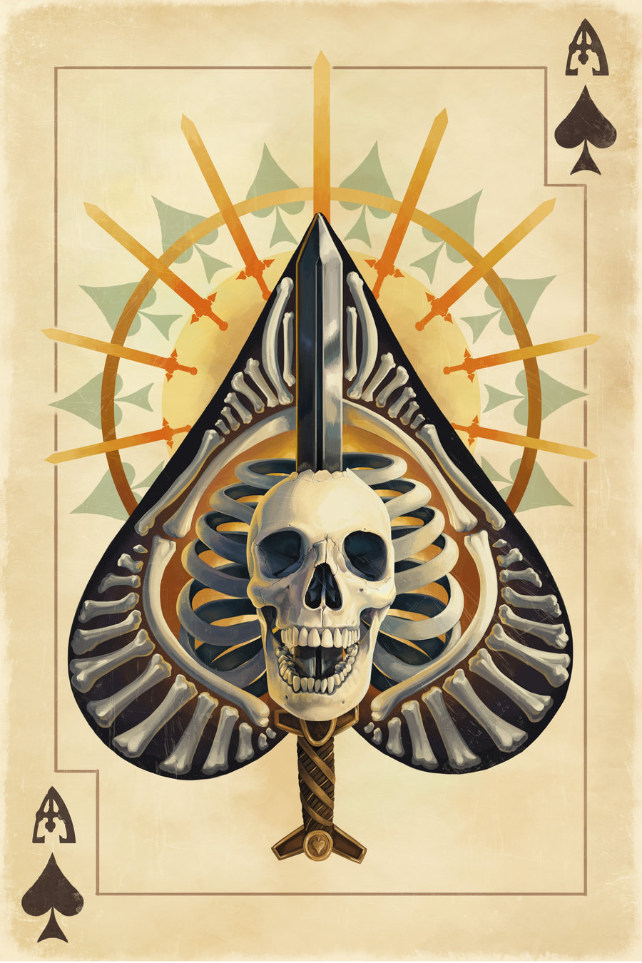 Ace Of Pentacles Images On Pinterest: The Science Of The Ace Of Spades And Holy Bone In Your