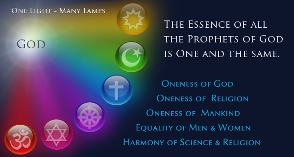 All the great religions had their roots in one mother soil