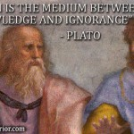 Opinion is the medium between knowledge and ignorance