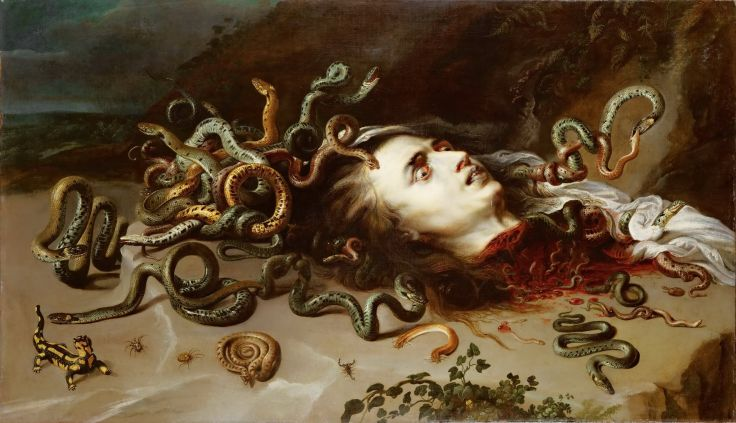 If the snake reaches the water first, the son of man dies
