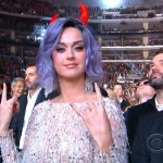 Devilish Stars Wear Gnostic Baphomet Horns at the 2015 Grammy's