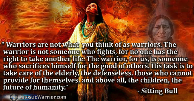 Warriors Are Not Sitting Bull Quotes