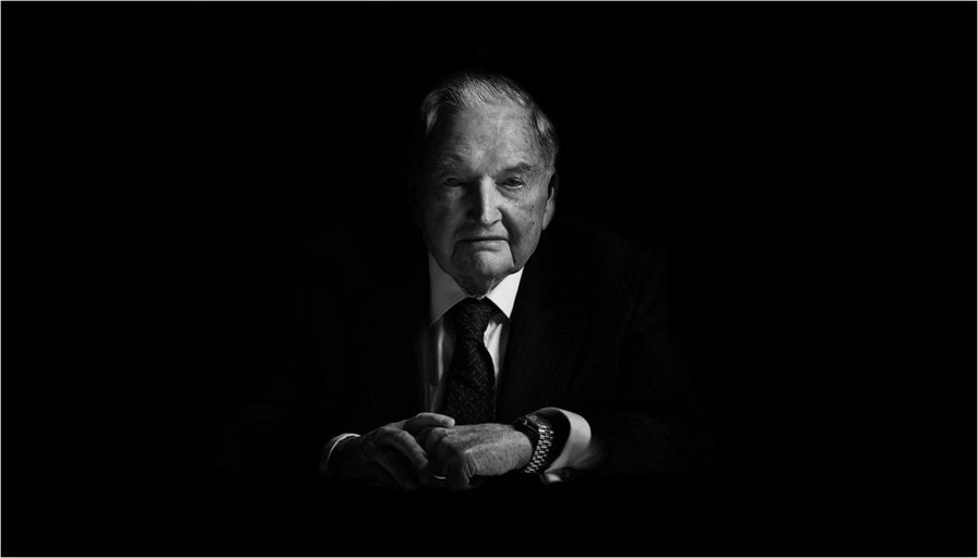 David Rockefeller thanks corporate media for help in the march towards world government