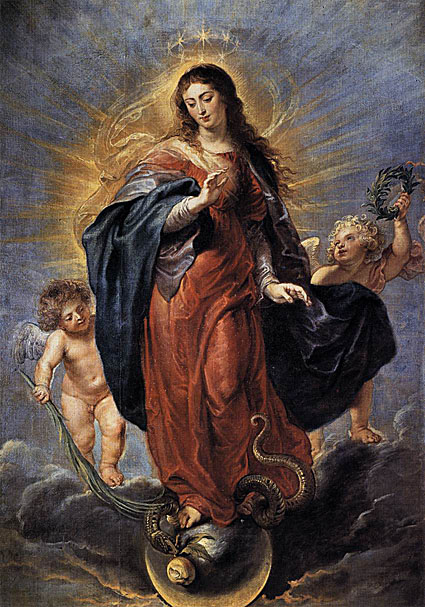 mary virgin serpent