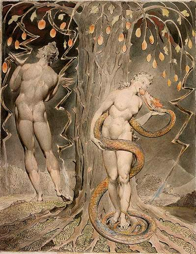 Sethians William_Blake,_The_Temptation_and_Fall_of_Eve